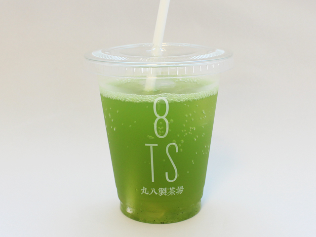 7/23~8/5 期間限定!「抹茶ソーダ」